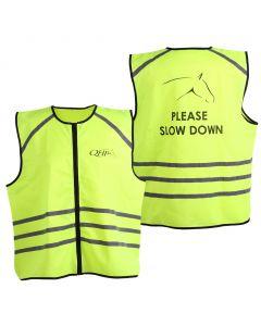 QHP Reflexní vesta žlutá