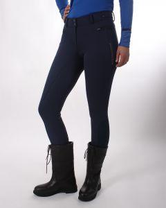 QHP Jezdecké kalhoty softshellové protiskluzové sedlo Aylinn