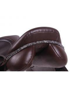 QHP Saddleboard Lupine Černá / stříbrná