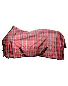 "MHS Dešťový koberec s rounem ""Červené bloky"""