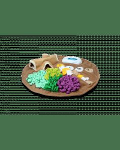 Hofman AFP Dig it - Kulatá načechraná podložka s hoge hračkou