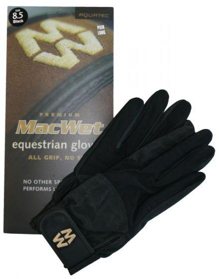 Hofman jezdecké rukavice Micro Mesh 8 White