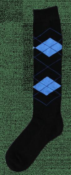Excellent Podkolenky RE černé / světle modré 43-46