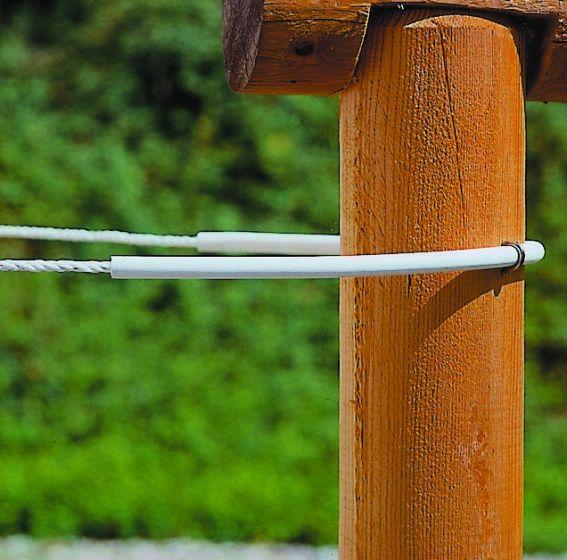 Hofman Izolační trubice flexi bílá až 8 mm šňůra