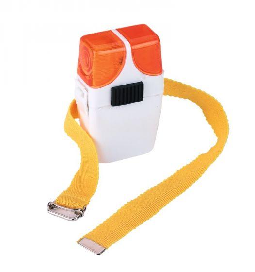 Hofman jezdecká výstražná svítilna oranžová / oranžová