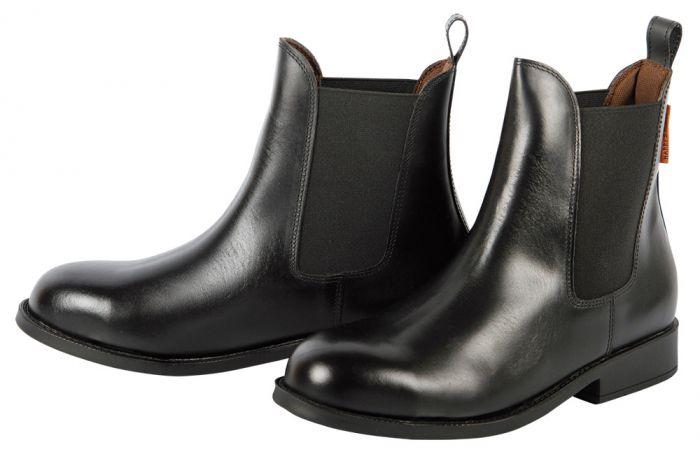 Harry's Horse Kožené boty Jodhpur z bezpečnostní ocelové špičky