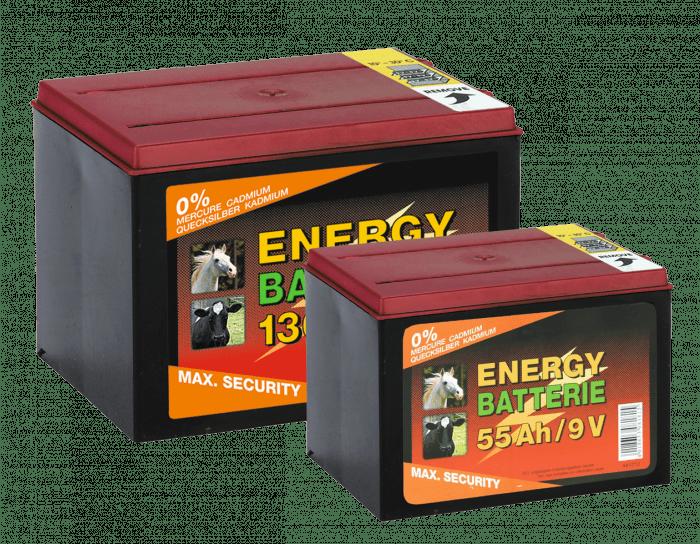 ZoneGuard Baterie EC super 9V / 130Ah