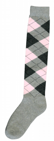 Excellent Podkolenky RE světle šedé / tmavě šedé / růžové 43-46
